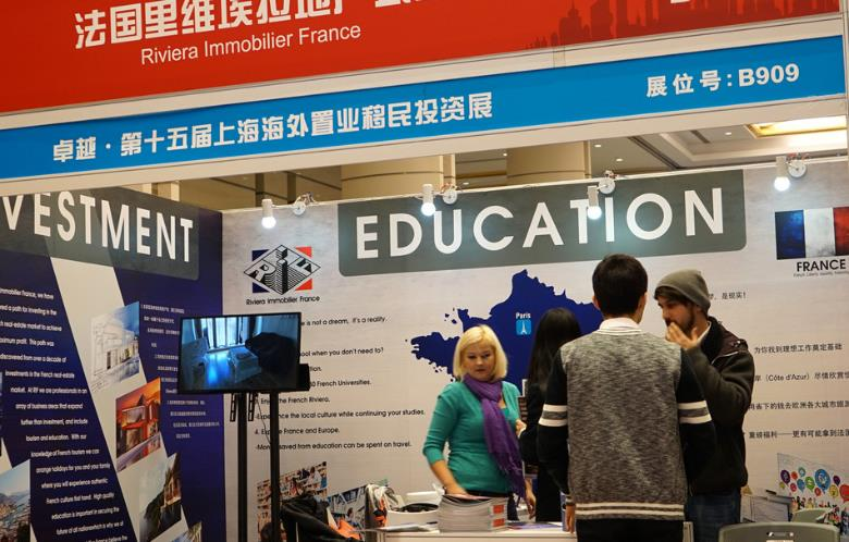 Chinese students pursuing studies overseas tend to be younger