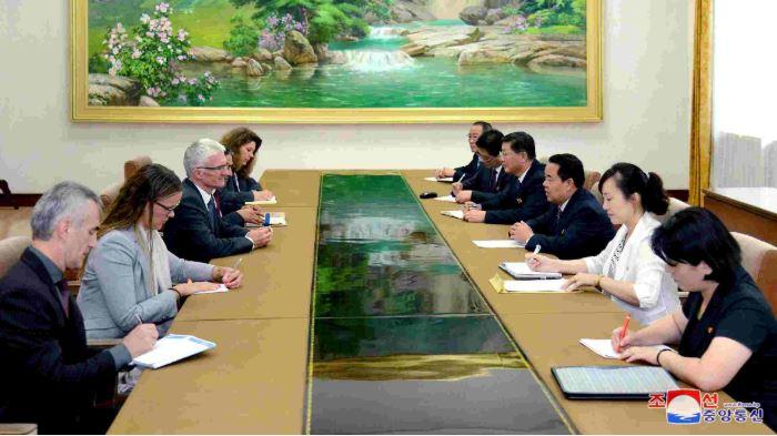 Senior UN official wraps up visit to North Korea