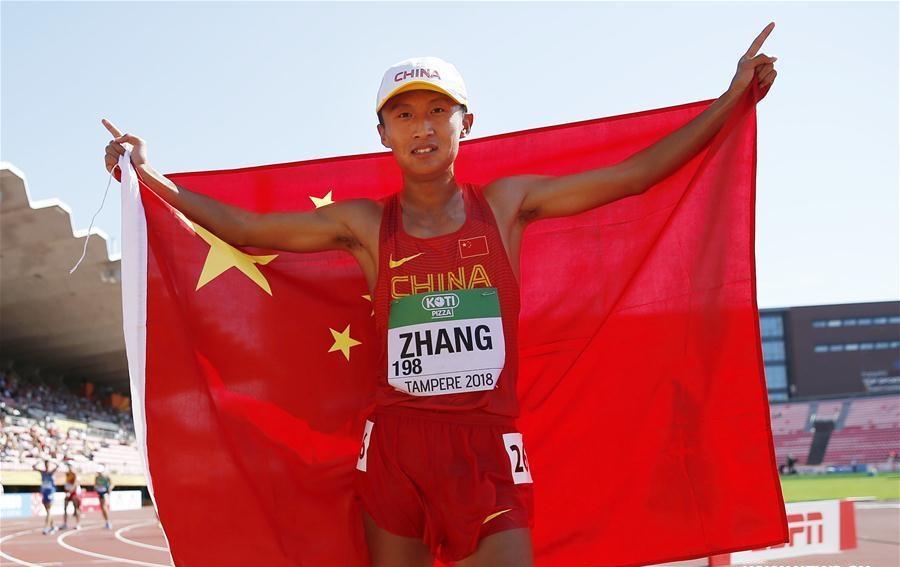 Zhang Yao wins Men's 10,000 Metres Race Walk final at IAAF World U20 Championships