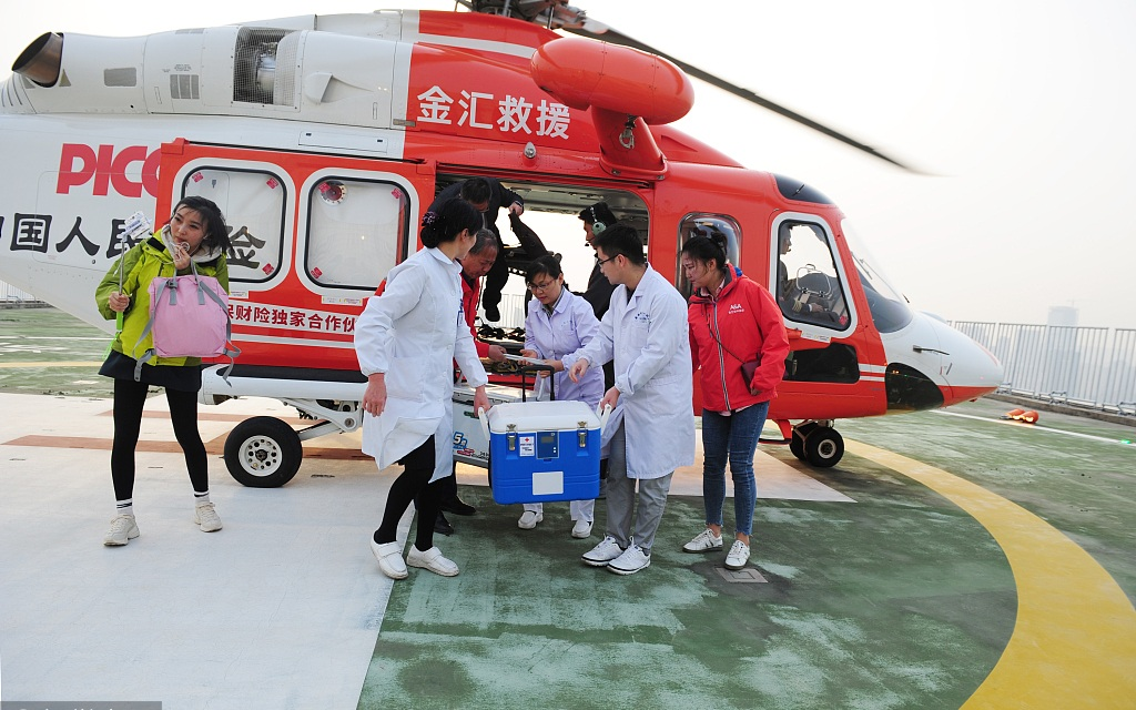 China reports over 2,400 organ donors from January to May
