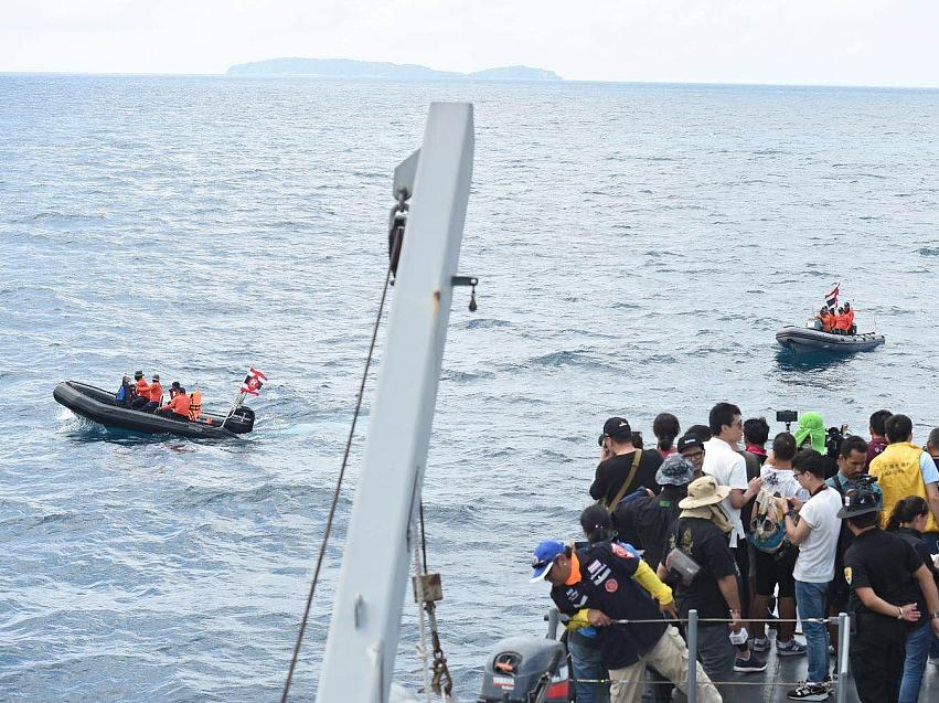 Last victim retrieved from sunken Phuket boat