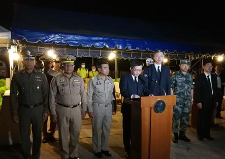 Chinese ambassador receives final victim's remains from the Phuket boat tragedy