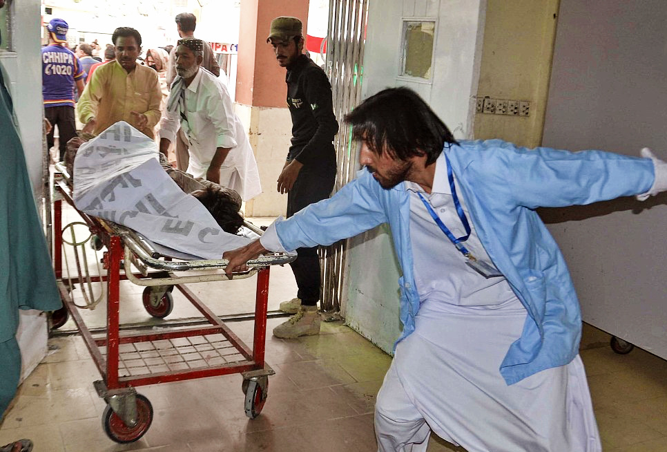 Death toll in SW Pakistan suicide bombing rises to 149