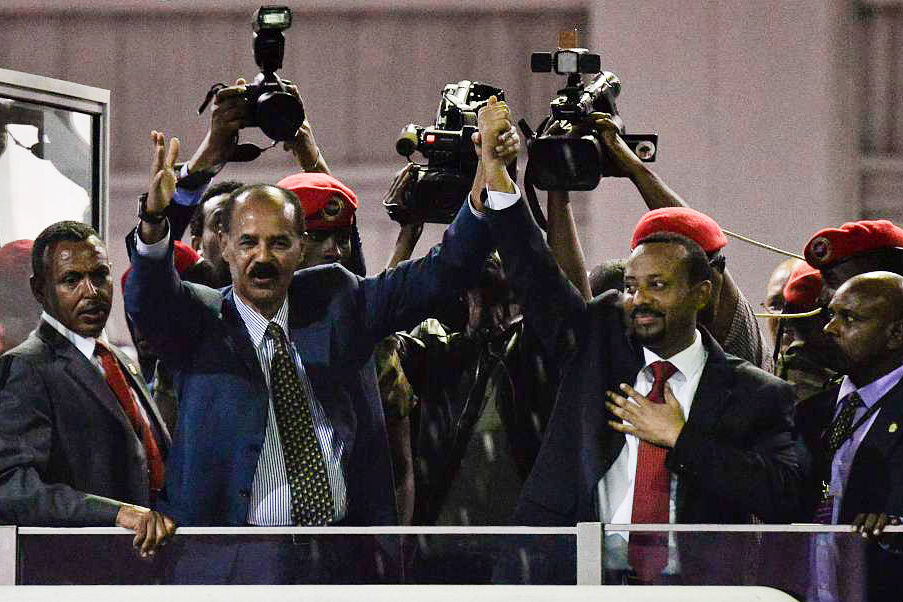 Eritrea re-opens embassy in Ethiopia amid thaw