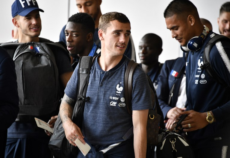 France's World Cup-winning team leave Russia: Air France