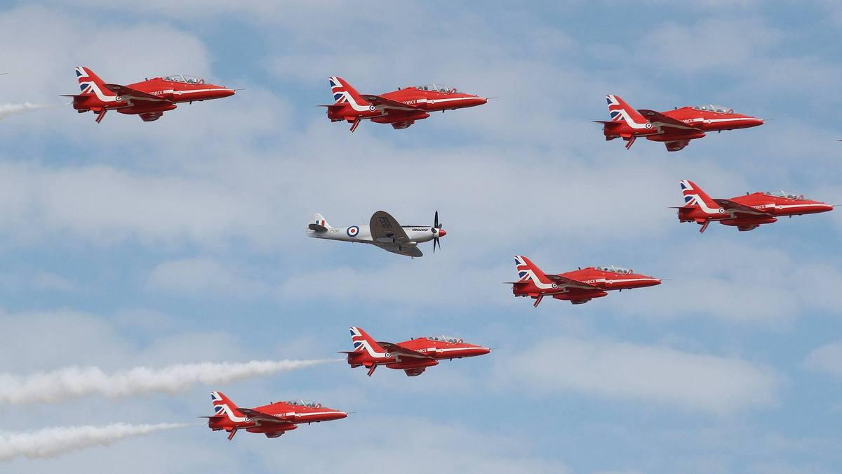 2018 Farnborough Airshow opens in the UK