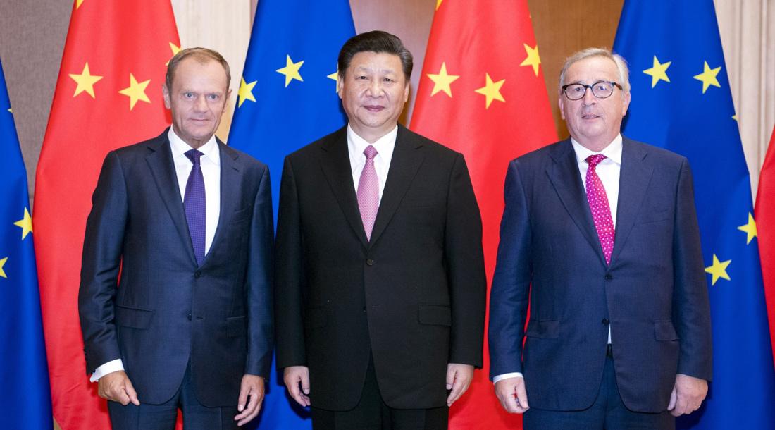 Chinese president eyes closer China-EU partnership