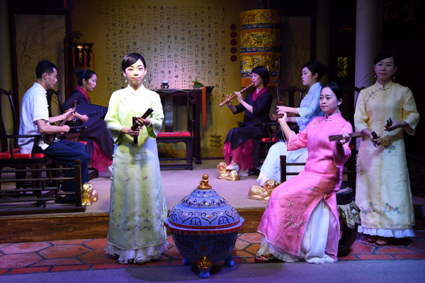 Ancient China comes alive in heart of modern city
