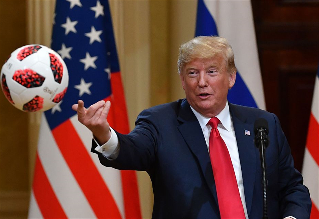 US senators criticize Trump's remarks in Helsinki