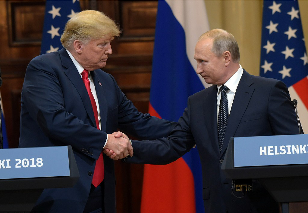 Trump faces criticism on his remarks in Helsinki