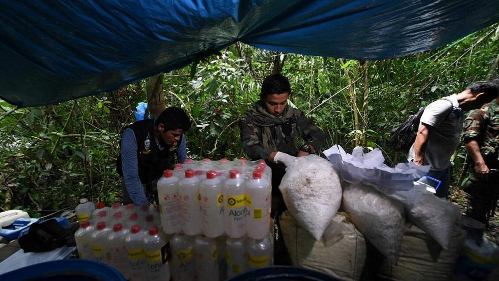Peru arrests more than 50 in drug bust at Colombian border
