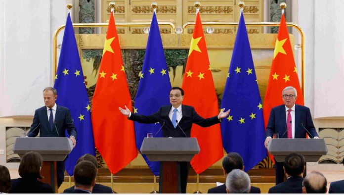 China, EU vow joint action to combat climate change, support developing countries