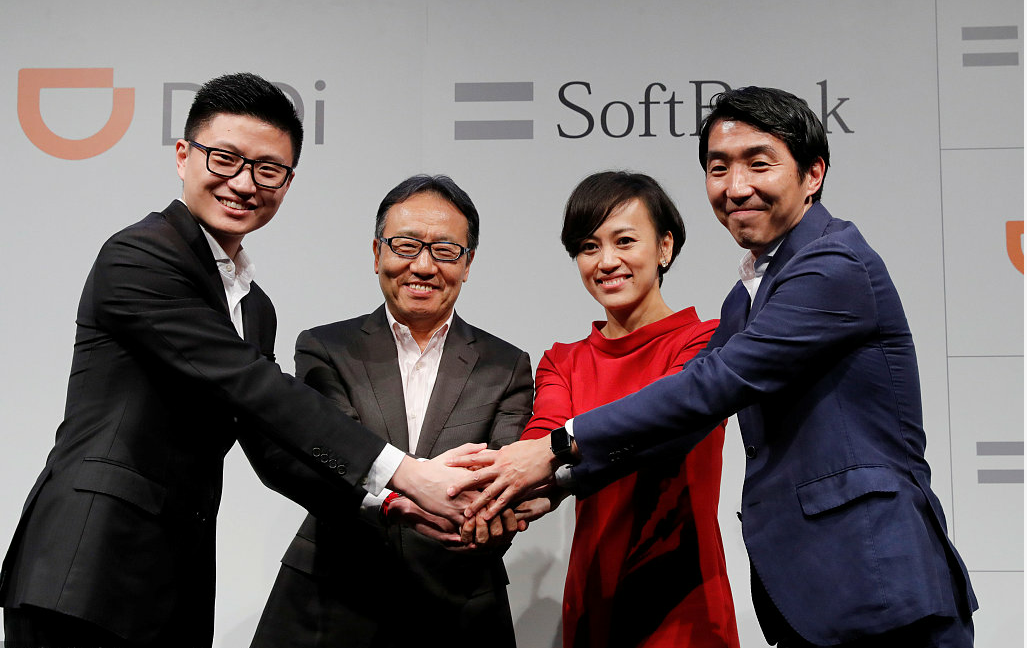 DiDi and SoftBank launch joint venture in Japan to offer taxi-hailing service