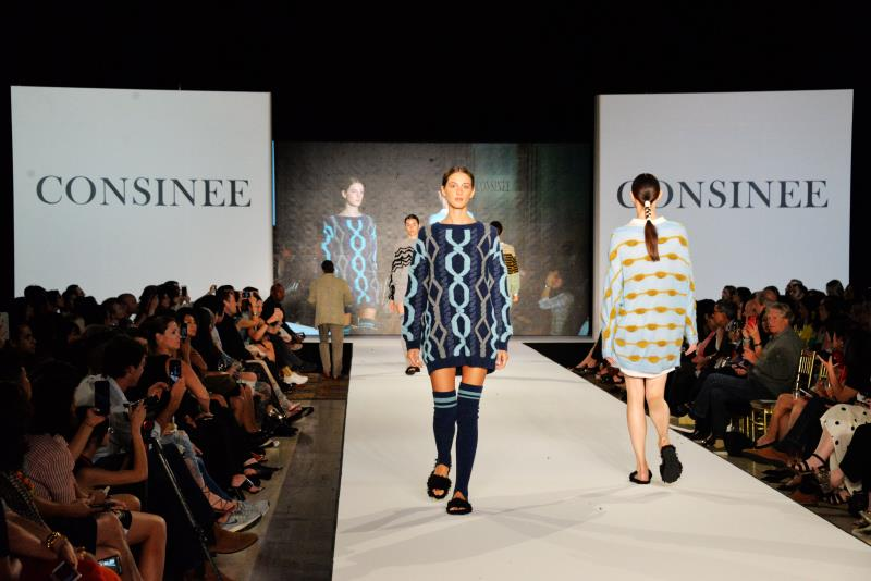 Consinee cashmere hosts debut fashion show in New York City