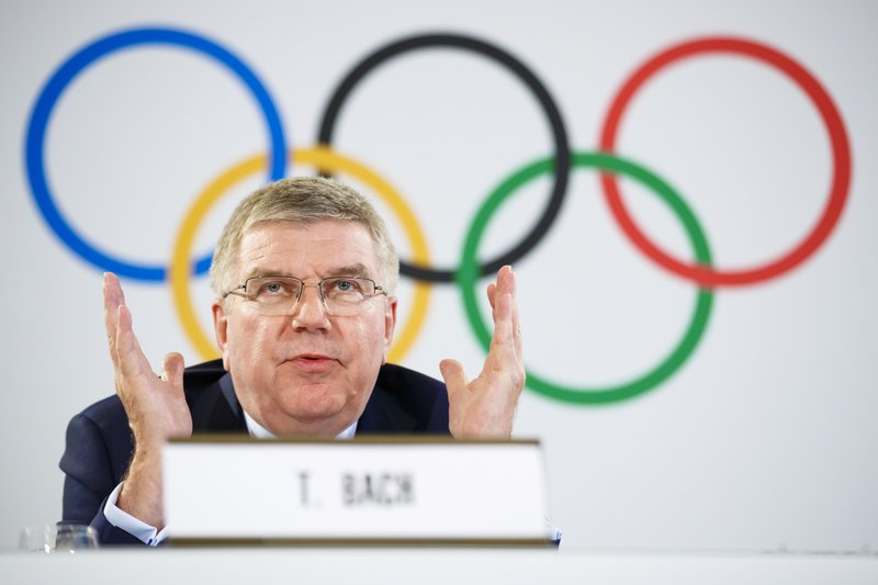 IOC leader happy with shrinking 2026 Winter Olympic contest