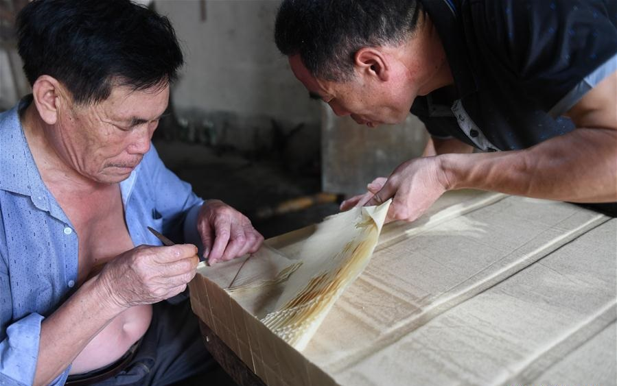 "National intangible cultural heritage: ""Xishan Paper"""