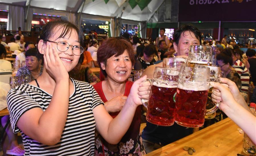 28th Qingdao Int'l Beer Festival kicks off