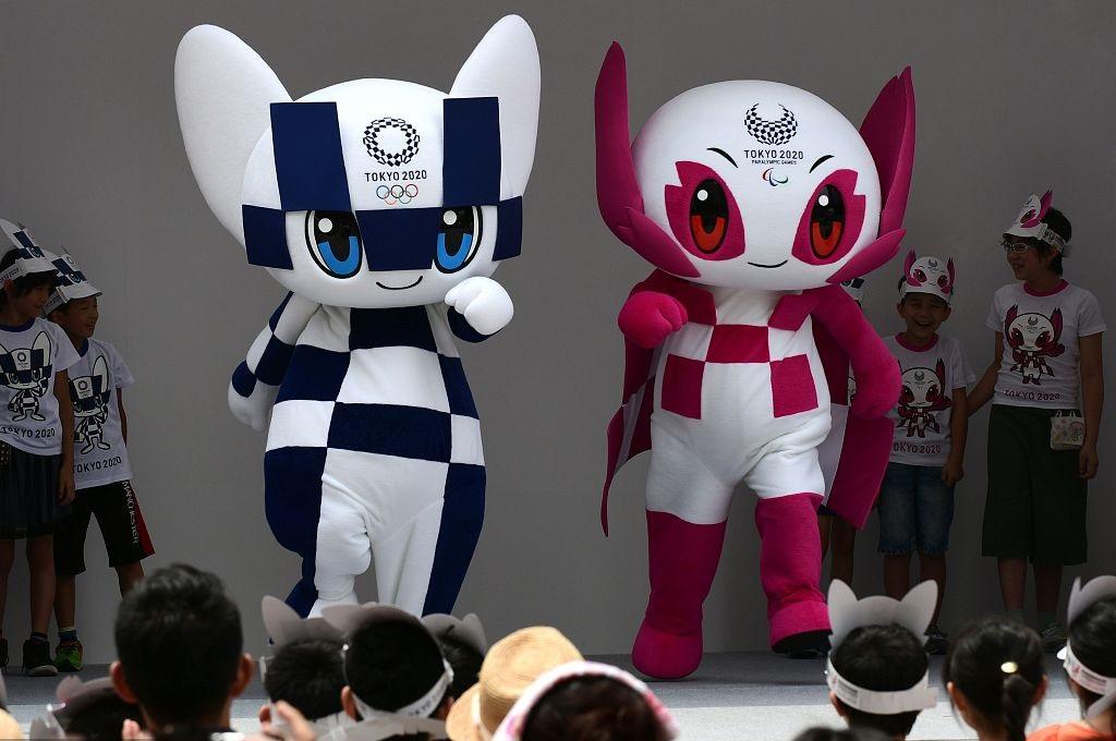 Tokyo christens futuristic 2020 Olympic mascots