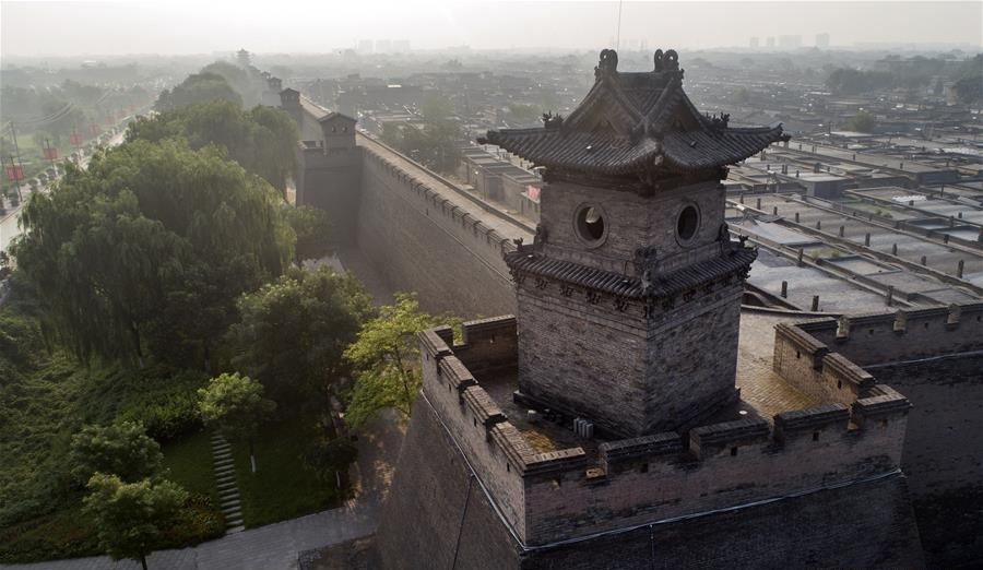 Scenery of Pingyao, N China's Shanxi Province