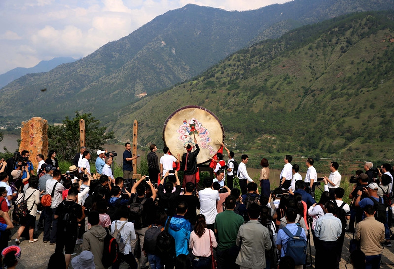 Activity of streaming down the Yangtze kicks off in Yunnan