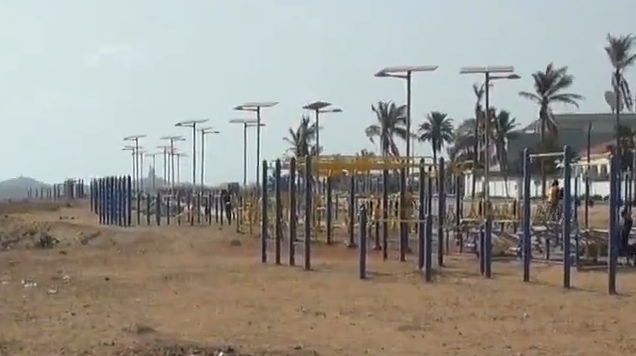 Chinese fitness equipments become new trend in Senegal
