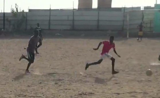Every Senegalese kid has a soccer dream