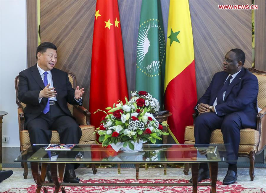 Chinese, Senegalese presidents pledge to create better future for ties