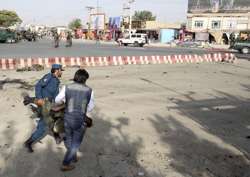 14 killed in blast near airport in Afghanistan