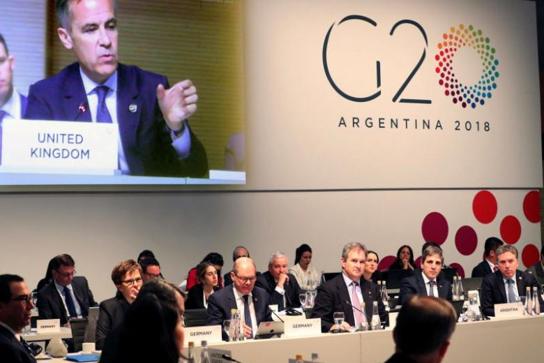 G-20 warns 'heightened trade and geopolitical tensions' pose risks to growth