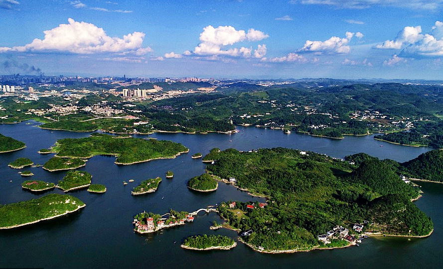 In Guiyang, Mother Nature meets high-tech