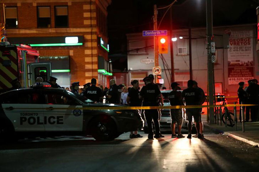 At least 9 injured in Toronto shooting