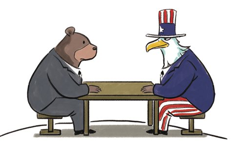 Hegemonic plot to derail Washington-Moscow détente