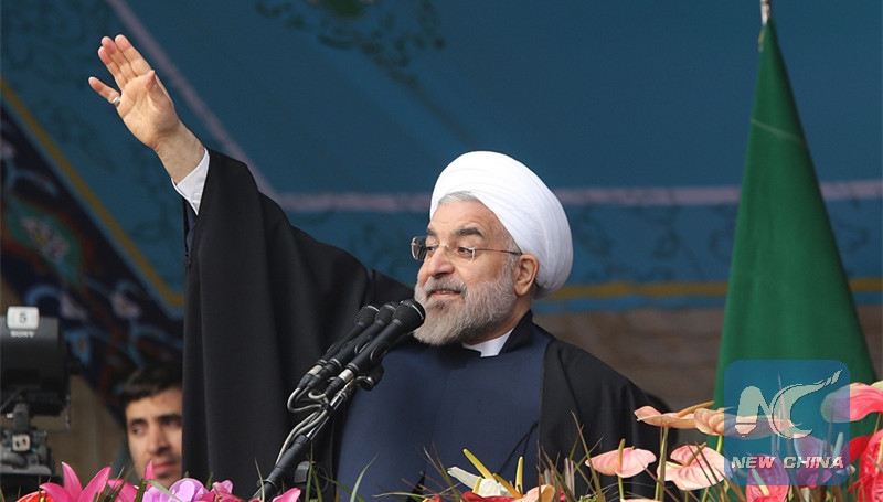 "Iran's Rouhani warns against US ""economic war"" with Iran"