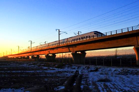 Chinese high-speed train wheels exported to Germany