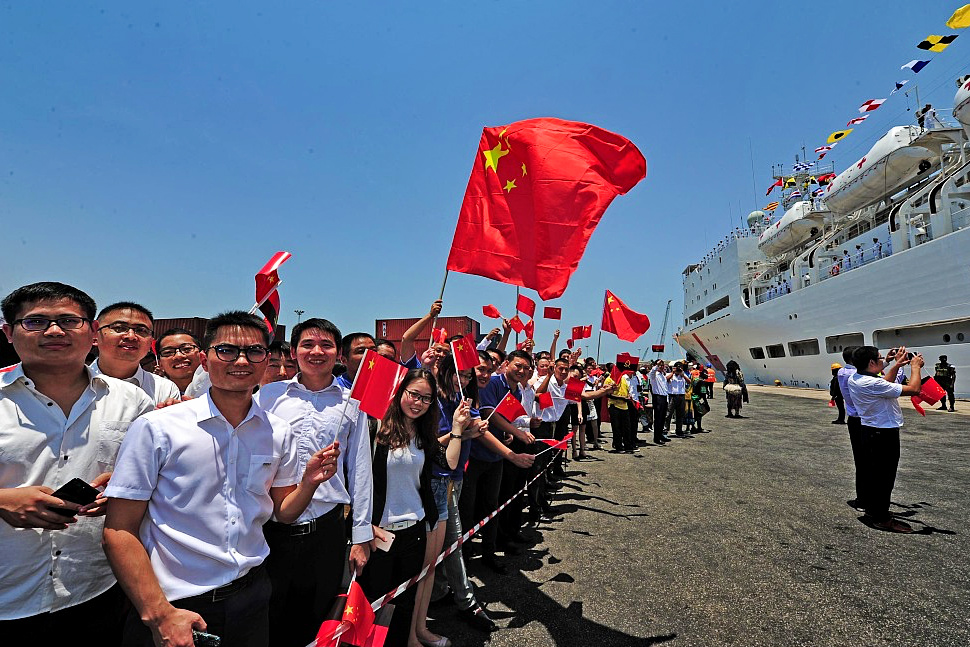 Chinese hospital ship continues humanitarian mission in Vanuatu
