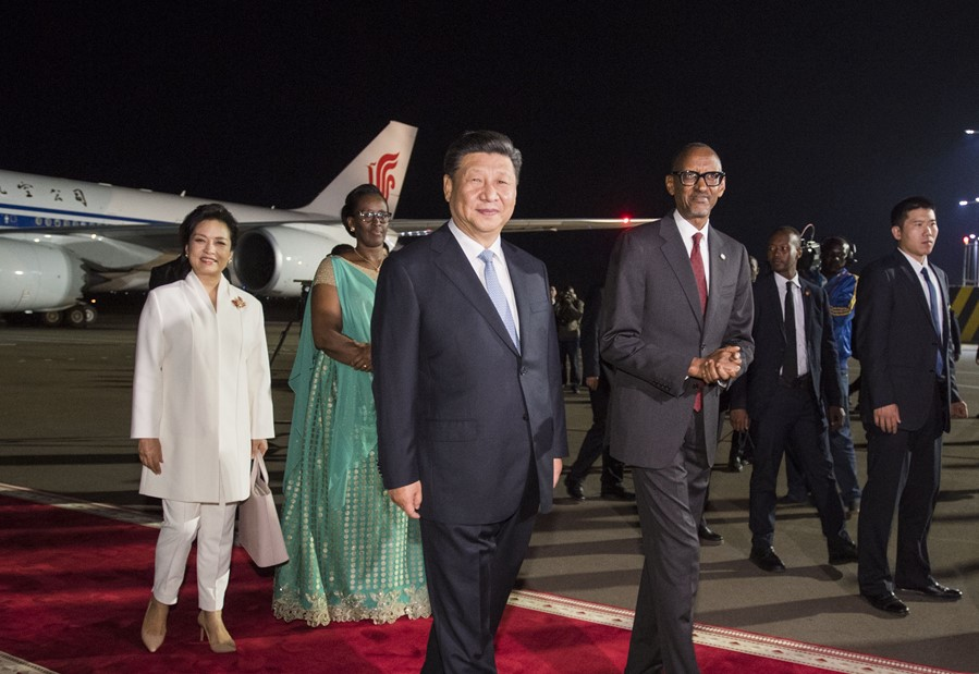 Rwandans speak highly of Chinese president's state visit