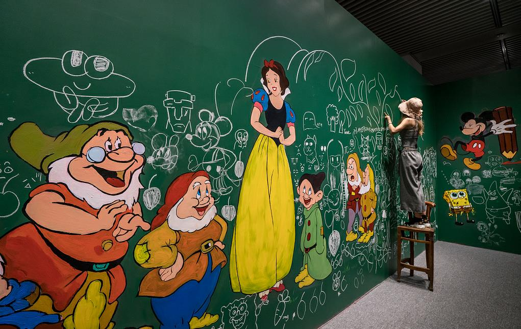 Original Disney cartoon drawings go on show in Beijing