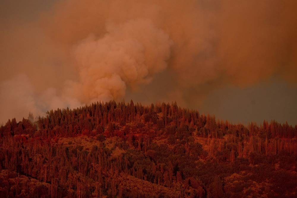 Wildfires break out in California