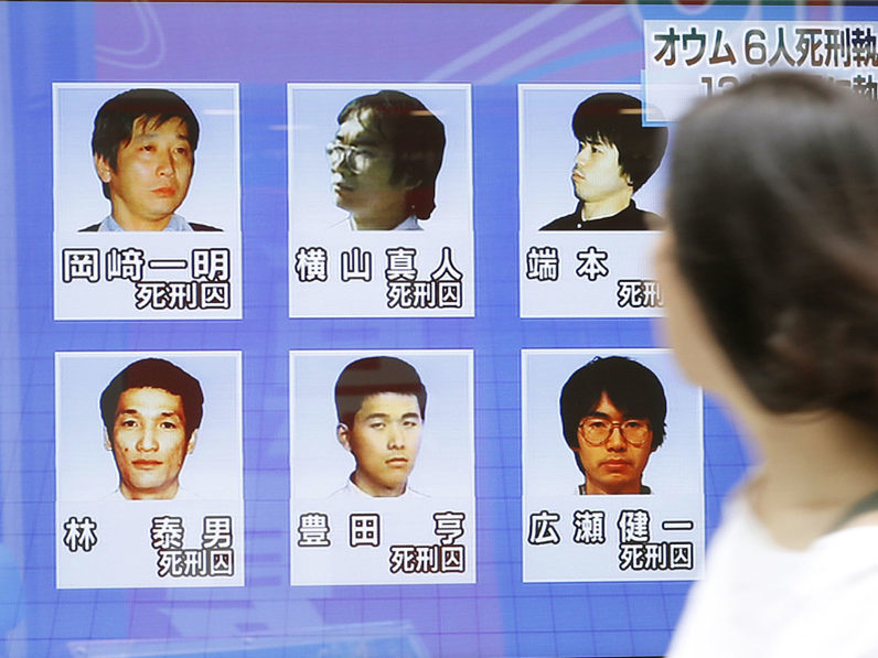 Japan executes last sarin attack cult members on death row