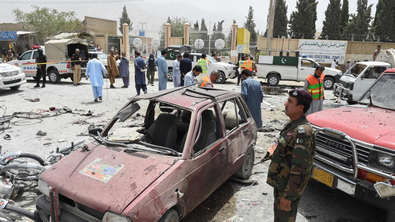UN chief condemns Pakistan polling station suicide attack