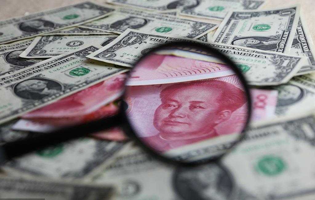 Yuan edges off 13-month low