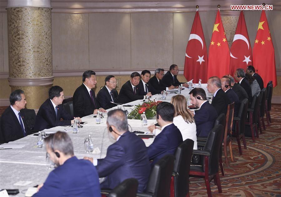 Xi, Erdogan agree to enhance China-Turkey cooperation