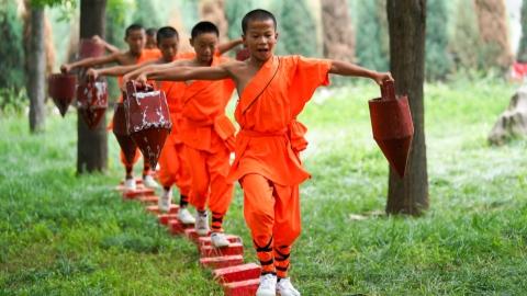 Experience Shaolin, heart of kung fu