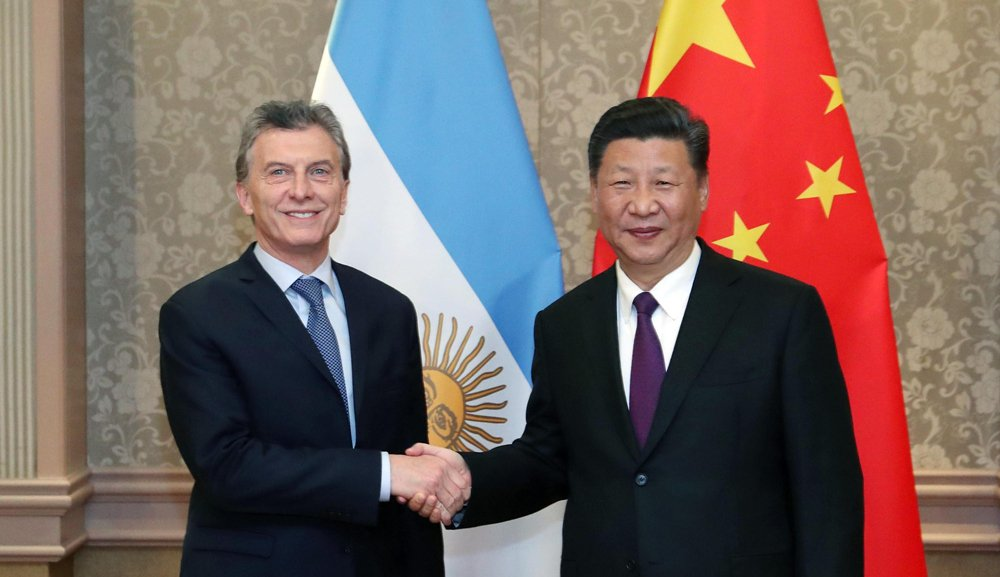 Xi says China to work with Argentina to safeguard multilateral trading system