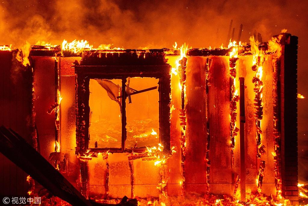 California Burning: Wildfires run rampant across state