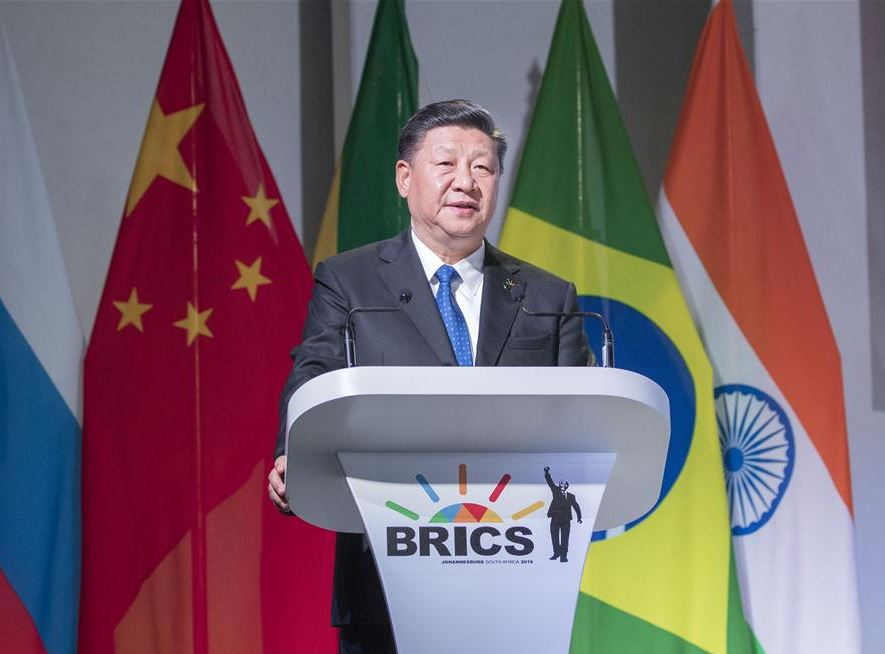 Xi's speech at BRICS Business Forum shows Chinese wisdom, experts say
