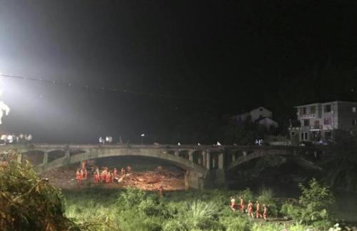 Severe weather blamed for collapse of lounge bridge