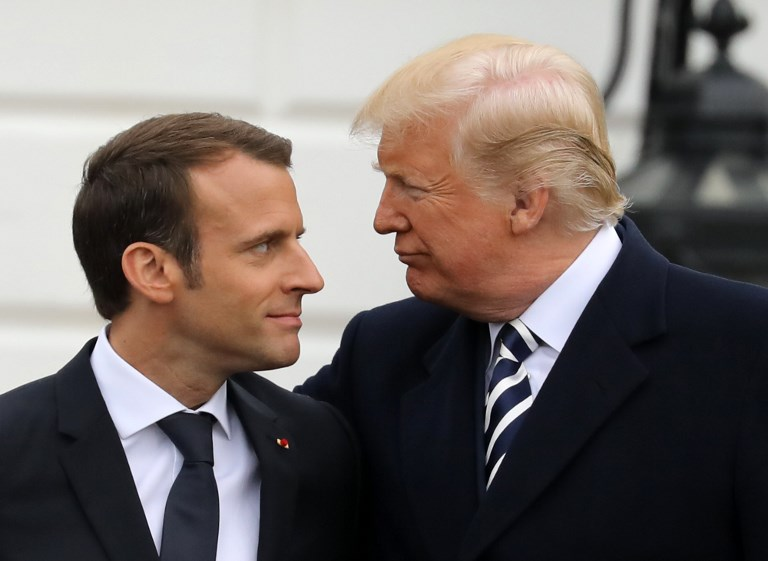 Macron rejects vast trade deal with US