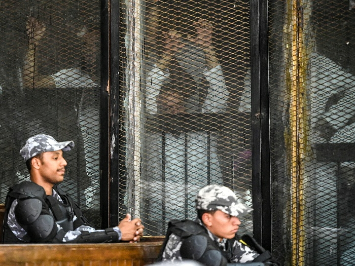 Egypt sentences 75 Brotherhood prominent figures to death in sit-in case