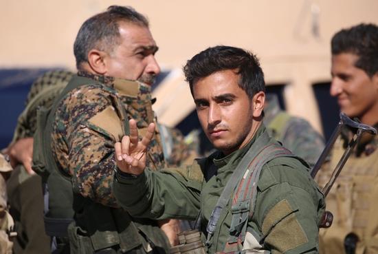 Kurdish-led group agrees with Damascus on roadmap for ending war